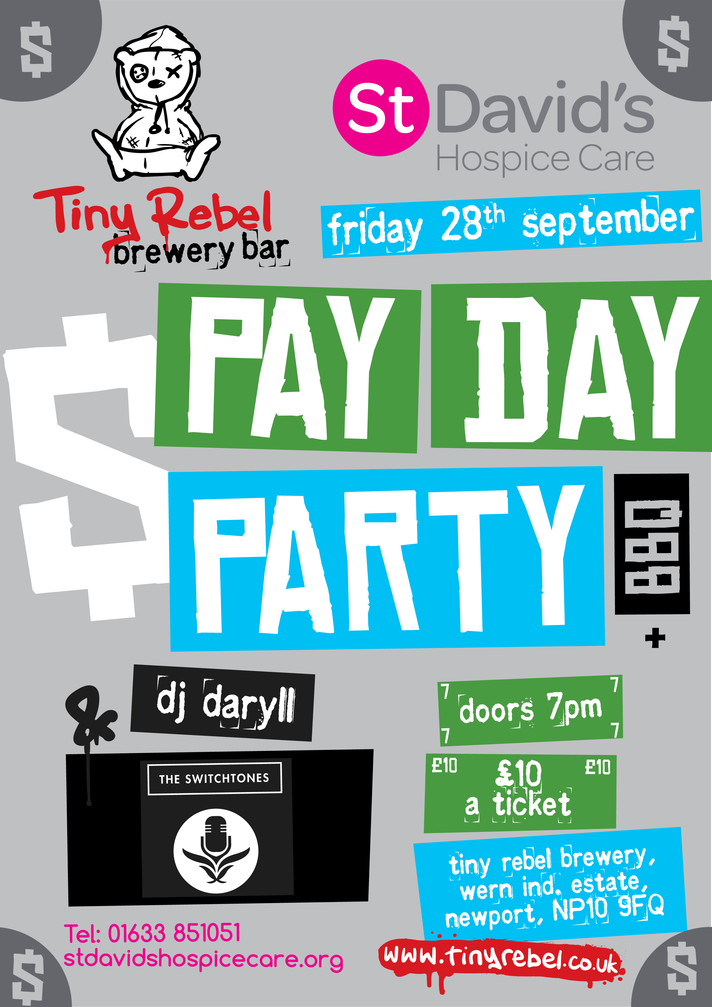 Pay Day Party | St David\'s Hospice Care